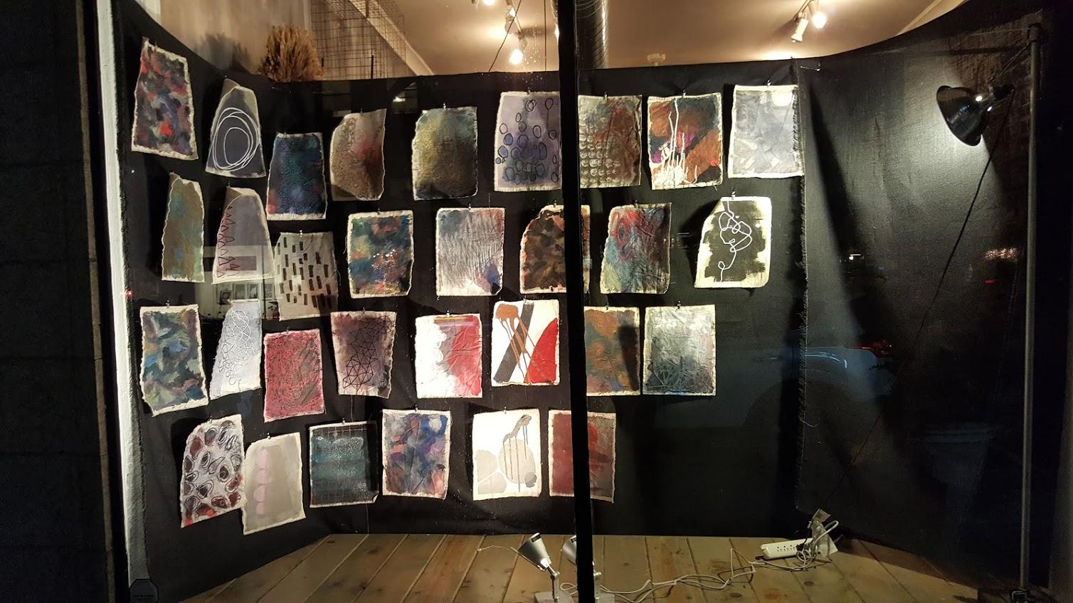Jennifer Rapp Window Show at Karna Evanston, IL